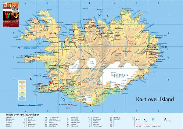 island kart kart island | Milla og Minas liv i koffert island kart